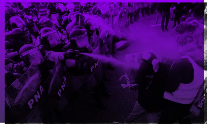 Basta de reprimir la protesta social