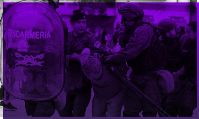 Contra la criminalización de los que luchan